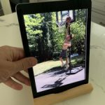 Wood Muze Frame and Stand