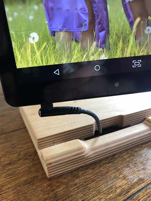 Wood Muze Frame Stand