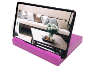 Muze Frame Stand Pink